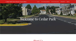 Preview of cedarparkonline.net