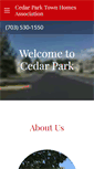 Mobile Preview of cedarparkonline.net